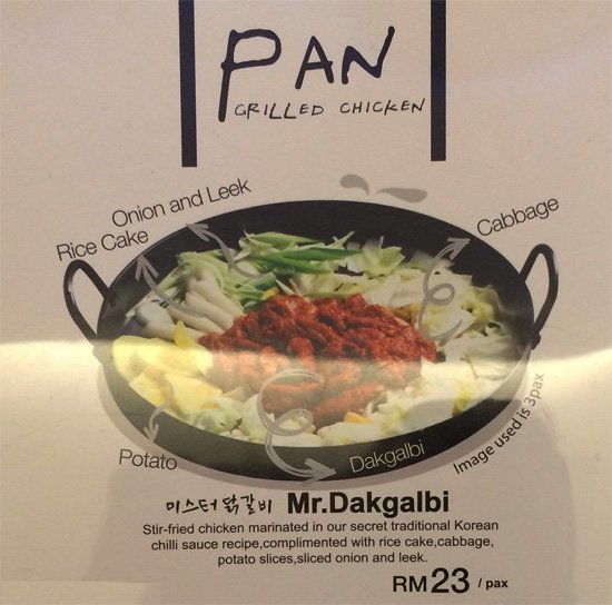 mr dakgalbi menu 1