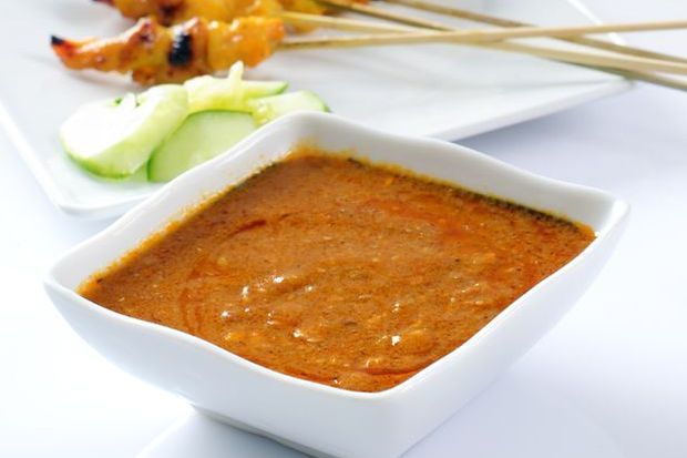 Malay Coarse Peanut Sauce Kuah Satay Aroma Asian
