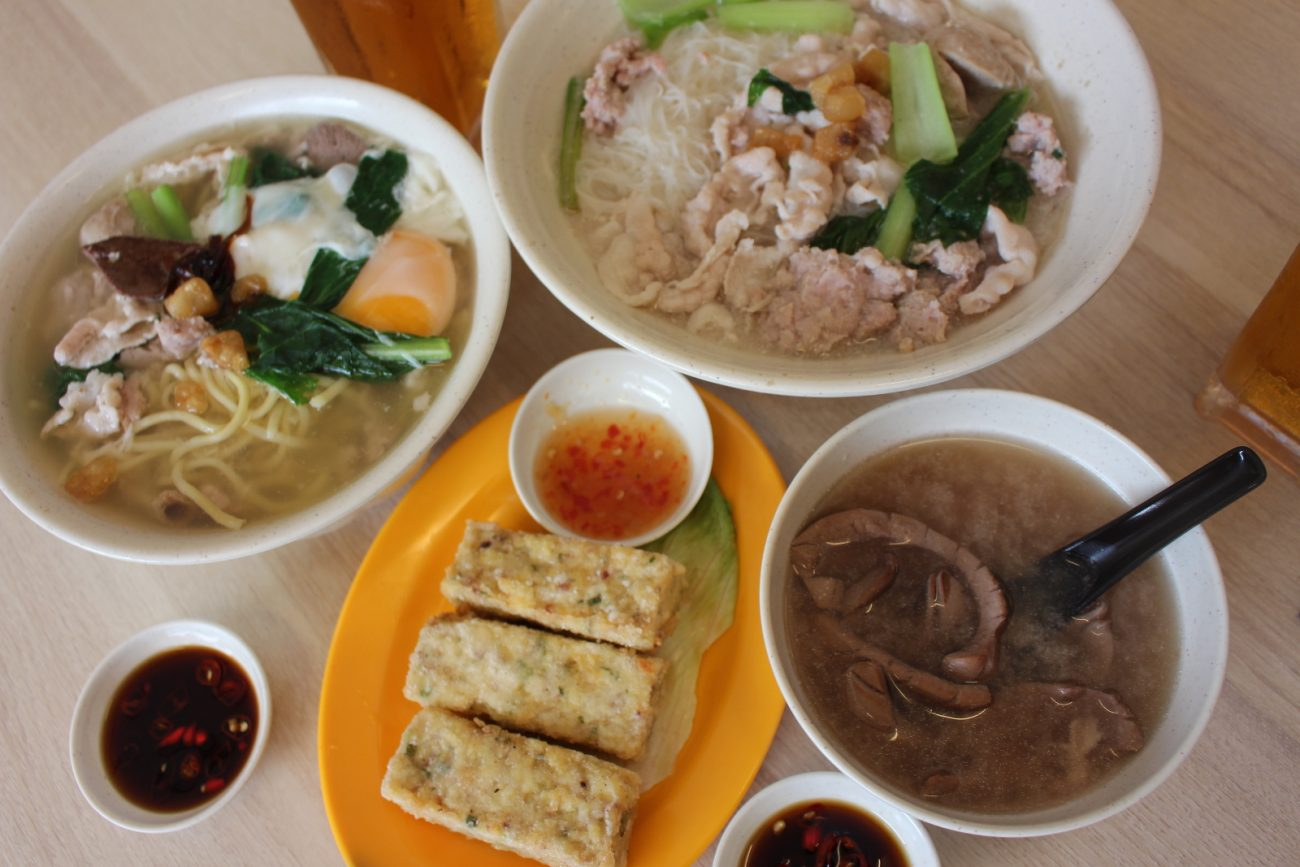 Must Try* A Bowl of Perfect Pork Noodle – Mun Ji Chop Noodle Zone