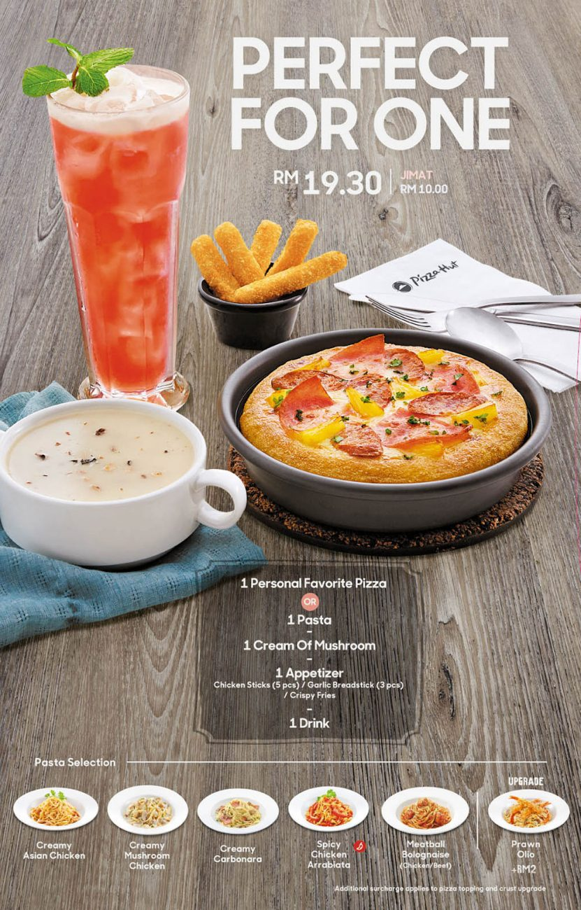 Pizza Hut S Weekend Specials Meal Set Promotions Aroma Asian
